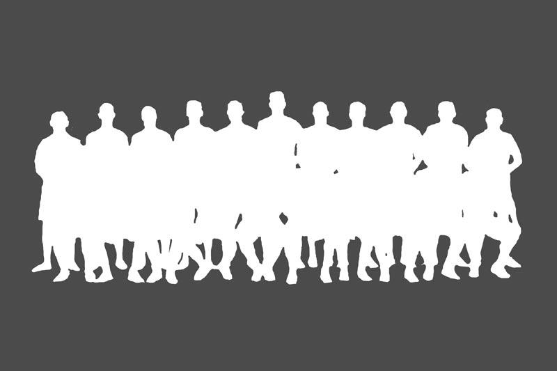 Platzhalter für ein kommendes Mannschaftsfoto